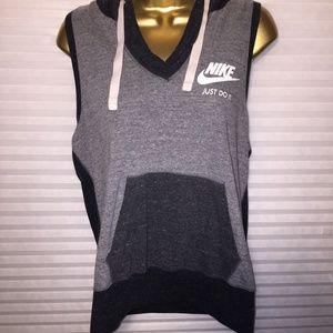 Women's Nike sportswear tank hoodie